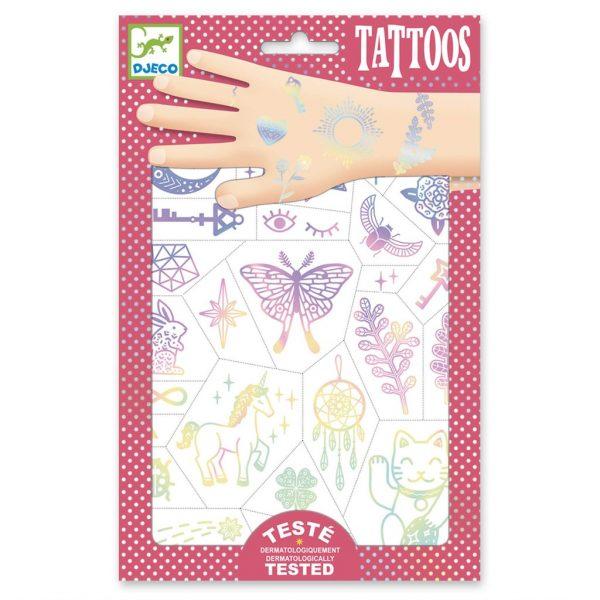 tauajes temporales. Tatuajes para niños.