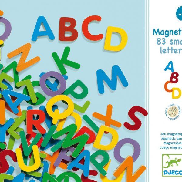 letras magnéticas dejo