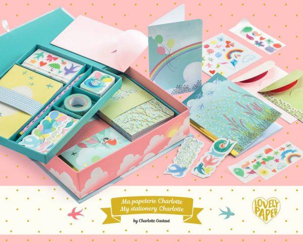 caja charlotte lovely paper