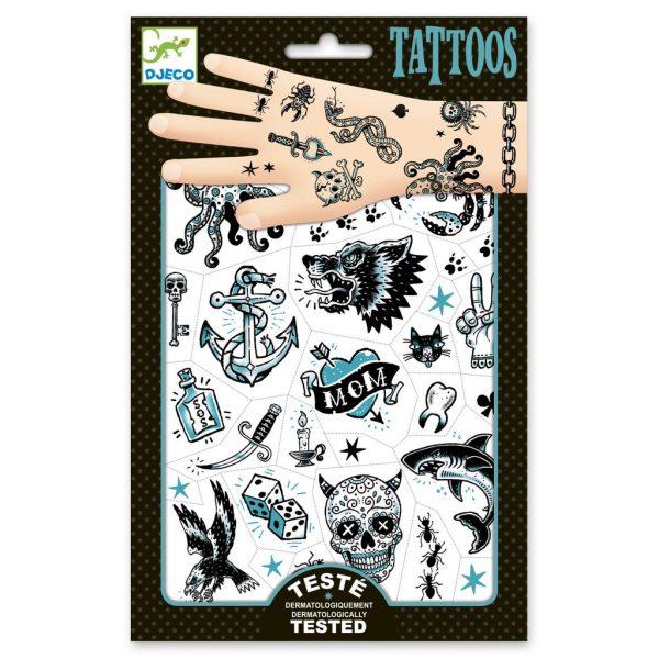 tatuajes lado oscuro, mon pettit o, regalos originales, carnaval, disfraz