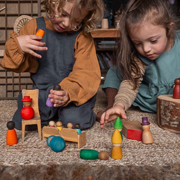 together, grant, juguetes de madera, juguetes sostenibles, Mon Pettit o, inspiración Wardolf