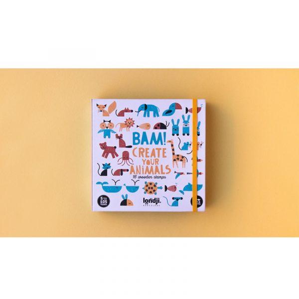 bam!animals londji, juego sellos, Mon Pettit o
