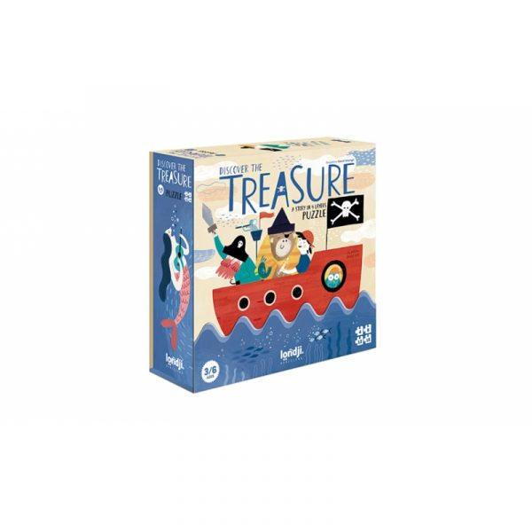 discover-the-treasure londji, puzzle original, mon Pettit O