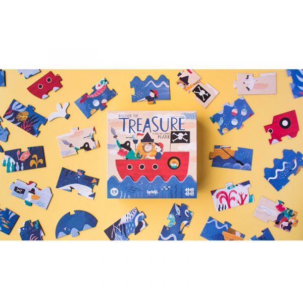 discover-the-treasure londji, puzzle original, Mon Pettit o,