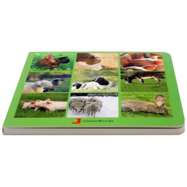 animales de granja , NOWORDBOOKS