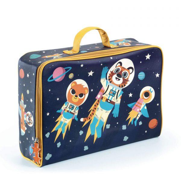 maleta space, DJECO, Mon Pettit ó , maleta infantil